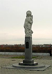 Шадринск. Памятник первым поселенцам города.