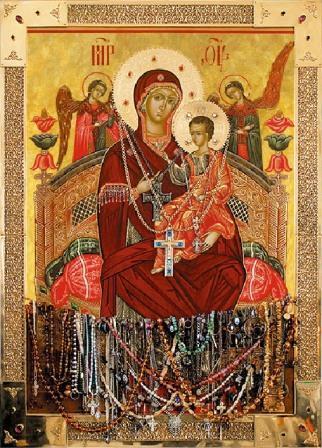 чудотворный образ Божией Матери «Всецарица»
