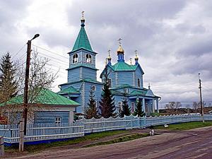 Храм в Чимеево.