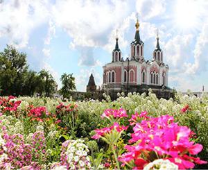 Свято-Успенский мужской монастырь в Далматово