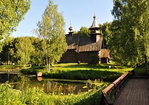 Музей деревянного зодчества Костромская Слобода.