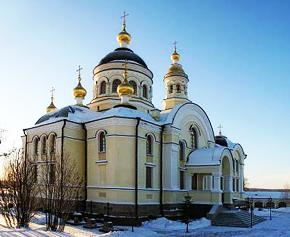 Храм Михаила Архангела. Меркушино.