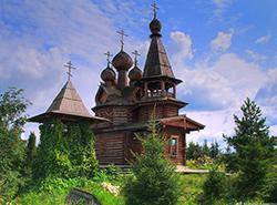 Женский монастырь под Катайском