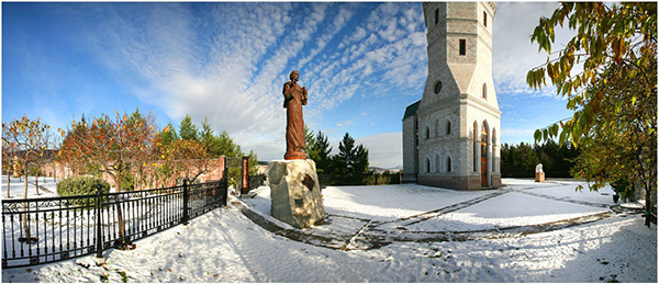 Златоуст , Красная горка горный парк имени П.П. Бажова.